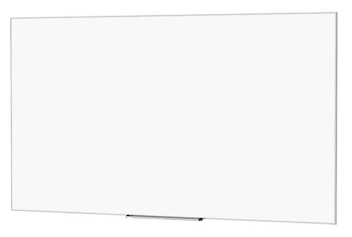 """102"""" HDTV 16:9 IDEA Screen with 24"""" Marker Tray"""