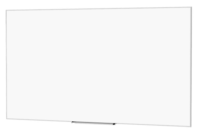 "121"" HDTV 16:9 IDEA Screen with 24"" Marker Tray"