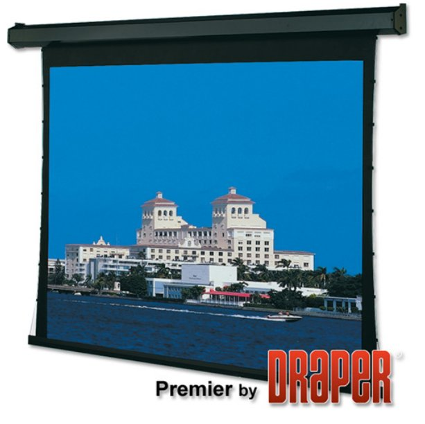 """161"""" HDTV 16:9 Premier Electric Screen with Low Voltage Motor Option"""