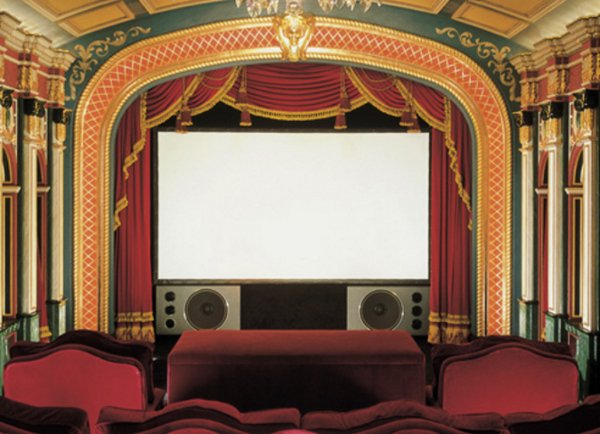 "7' 6"" NTSC Cineperm Fixed Projection Screen"