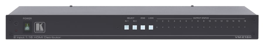 2x1:16 HDMI Distribution Amplifier