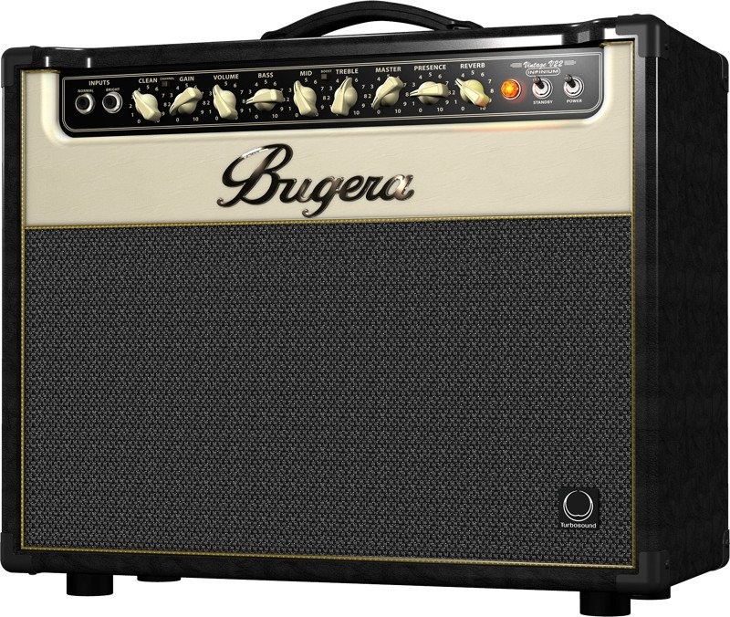 "22W 2 Channel Tube Combo Guitar Amplifier with Reverb and 12"" Turbosound Speaker"