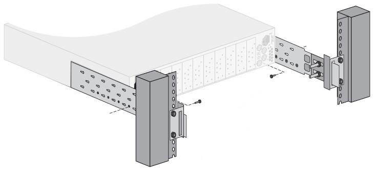 Rear Support Bars & Brackets for OG3-FR Series Frame