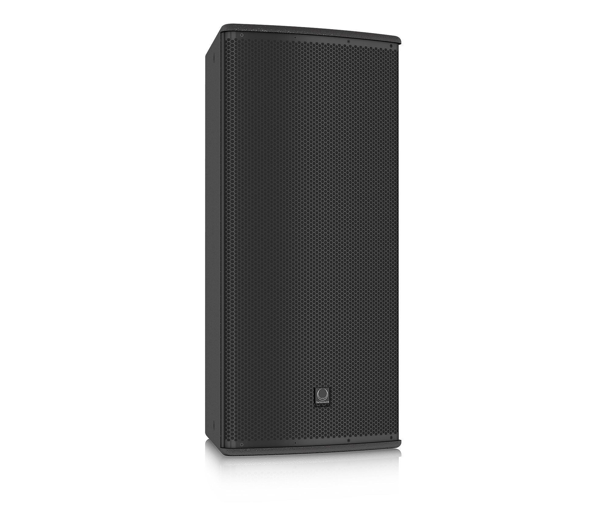 "12"" 600W (8 Ohms) 2-Way Full-Range Passive/Bi-Amp Loudspeaker with 60°x40° Dispersion in Black"