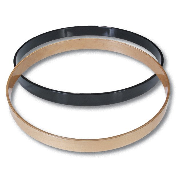 "Gibraltar SC-22M  22"" Wood Bass Hoop, Natural SC-22M"
