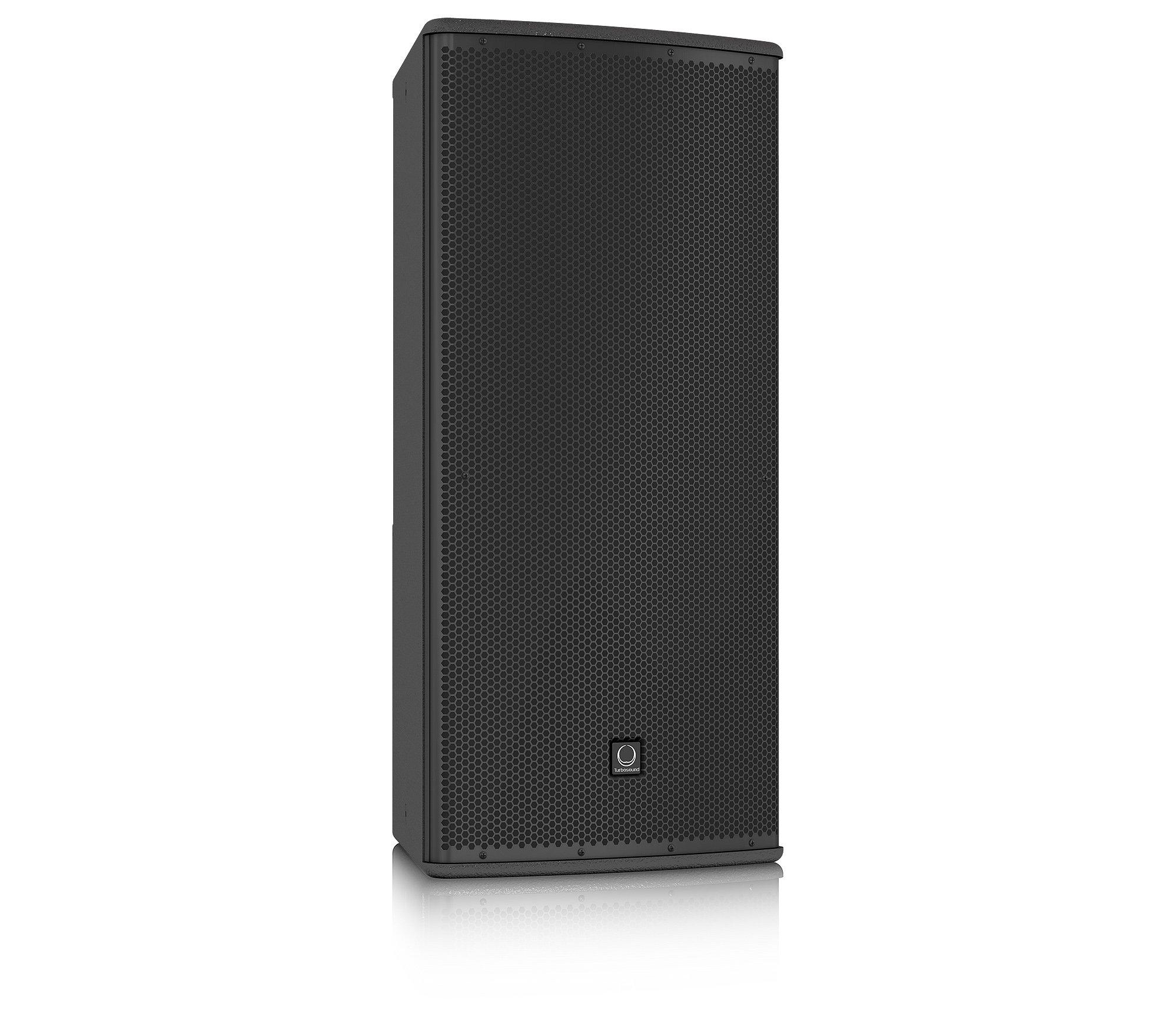 "12"" 600W (8 Ohms) 2-Way Full-Range Passive/Bi-Amp Loudspeaker with Klark Teknik DSP, ULTRANET Networking, and 90°x60° Dispersion in Black"