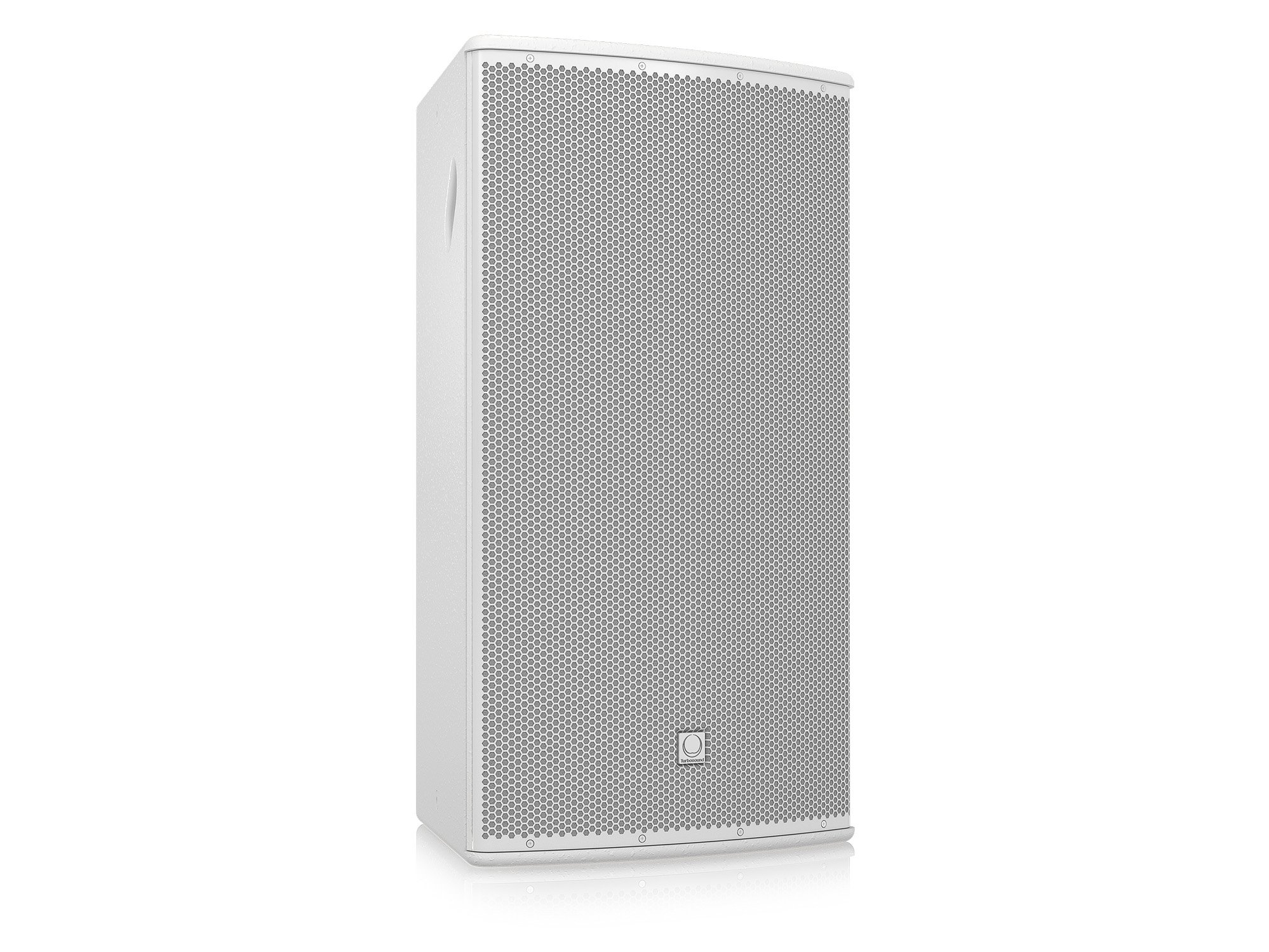 "15"" 500W (8 Ohms) 2-Way Full-Range Passive/Bi-Amp Loudspeaker with 60°x40° Dispersion in White"