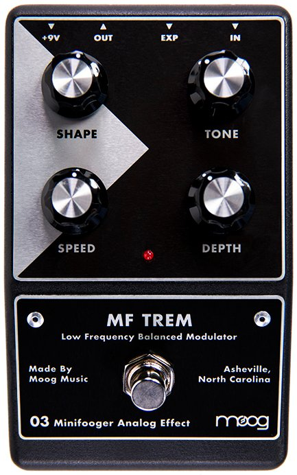 Minifooger Analog Tremolo Effects Pedal