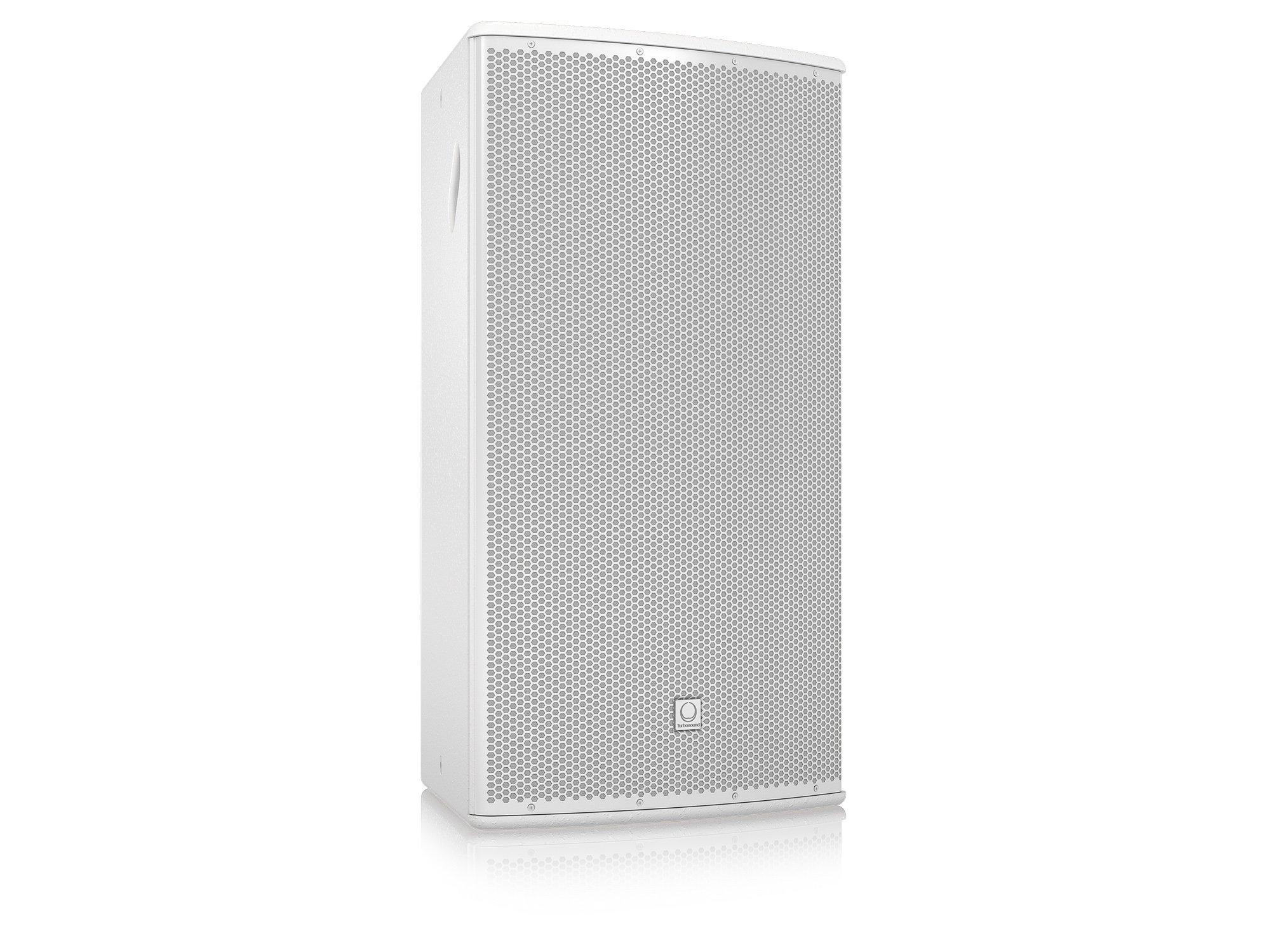 "15"" 500W (8 Ohms) 2-Way Full-Range Passive/Bi-Amp Loudspeaker with Klark Teknik DSP, ULTRANET Networking, and 90°x40° Dispersion in White"