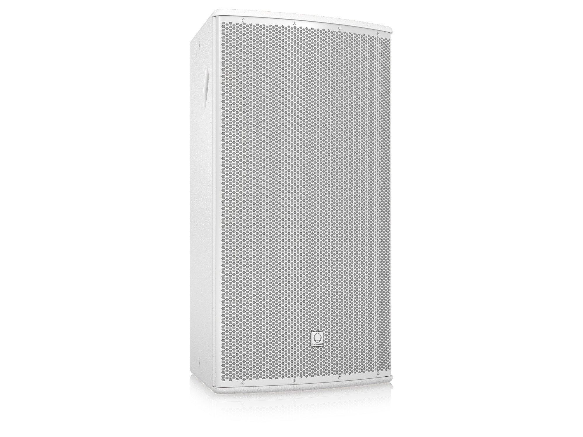 "15"" 500W (8 Ohms) 2-Way Full-Range Passive/Bi-Amp Loudspeaker with Klark Teknik DSP, ULTRANET Networking, and 90°x60° Dispersion in White"