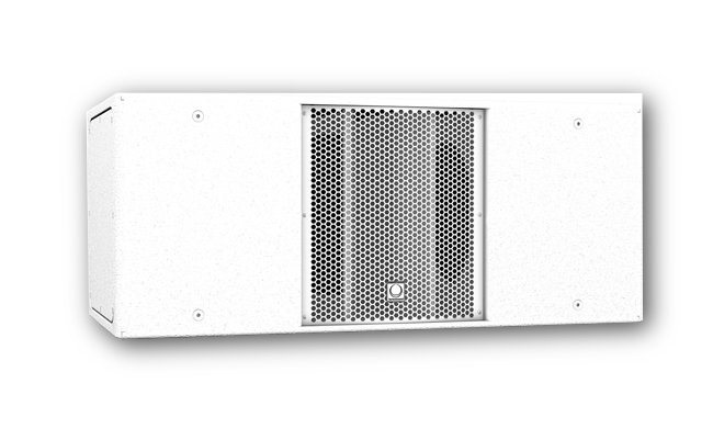 """Dual 12"""" 800W (4 Ohms) Passive Band-Pass Subwoofer in White"""