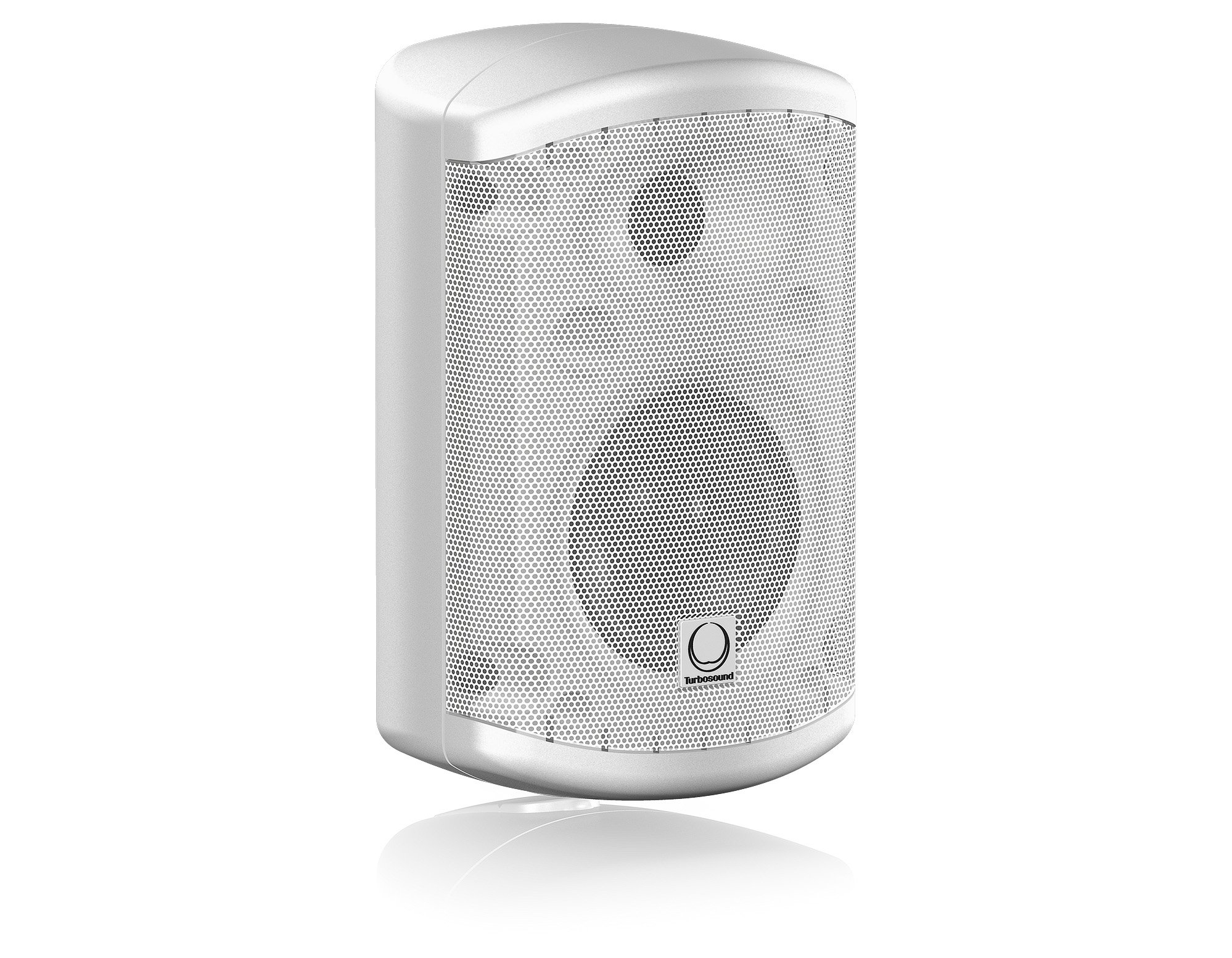 """Pair of 3.5"""" 2-Way 30W Loudspeakers in White with 70/100V & Low Impedance Operation"""