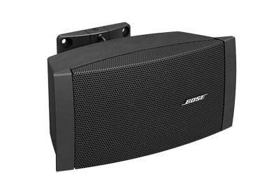 "FreeSpace Series 2.25"" Surface-Mount Loudspeaker in Black with 70/100V Transformer and Low Impedance Operation"