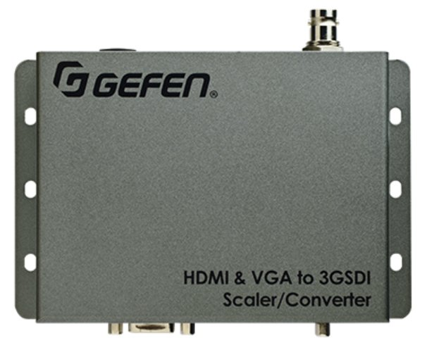 HDMI and VGA to 3GSDI Scaler - Converter