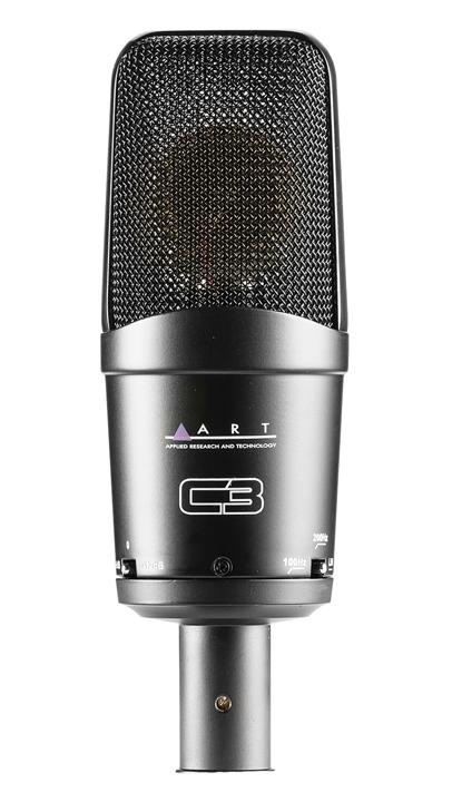 Multi-Pattern Large Diaphragm FET Condenser Microphone
