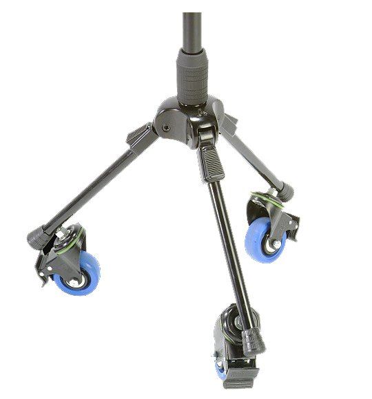 T3 Tripod Microphone Stand with 3 Casters with Brakes