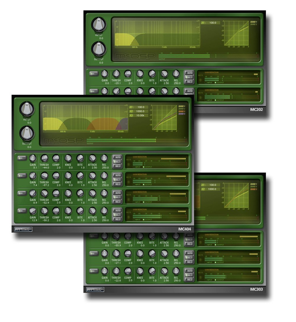 McDSP MC2000 Native Multi-Band Compressor Plug-in Bundle MC2000-NATIVE