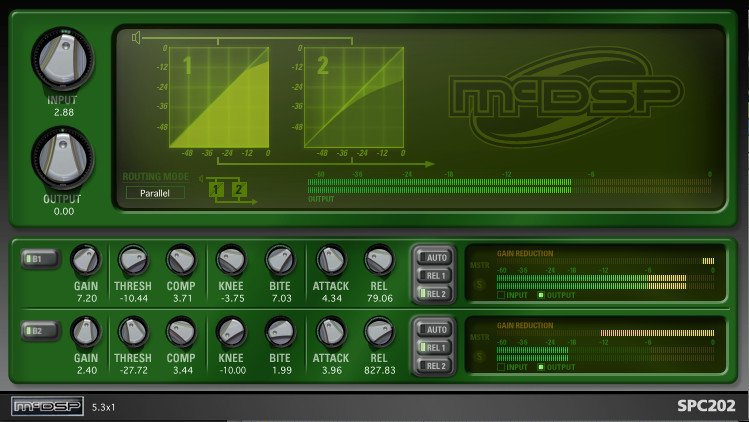 McDSP SPC2000 Native Serial/Parallel Compressor Native Plugin SPC2000-NAT