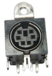 YPG-635 DIN Pedal Jack