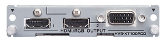PC HDMI-VGA Output Card for HVS-100
