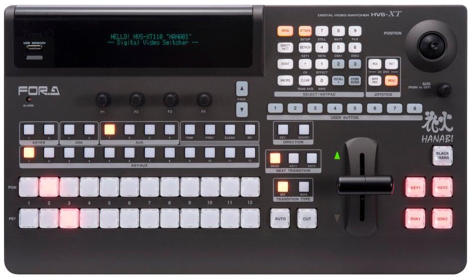 12-Button Operation Unit for HVS-100 Switcher