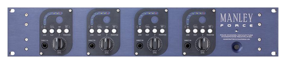 4-Channel Tube Microphone Preamplifier