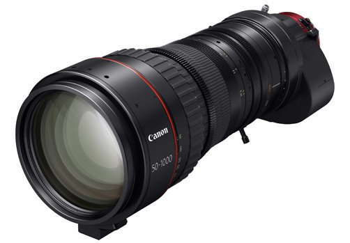 Canon 0438C002 Lens 50-1000mm PL Mount - CN20x50 IAS H/P1 0438C002