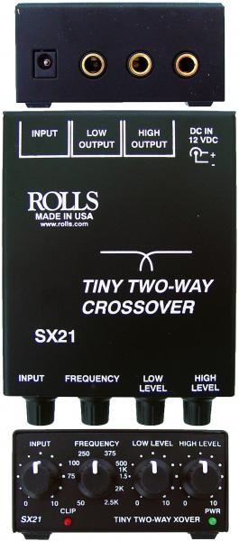 24dB/Octave Tiny 2-Way Crossover