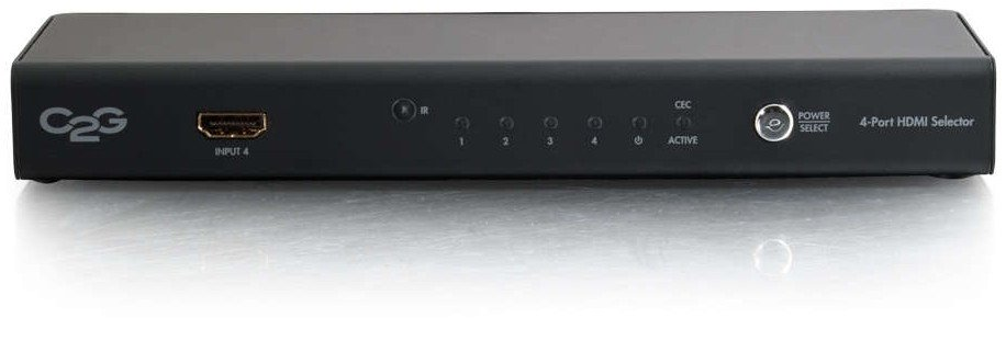 Cables To Go 41500 4-Port HDMI Selector Switch | Full