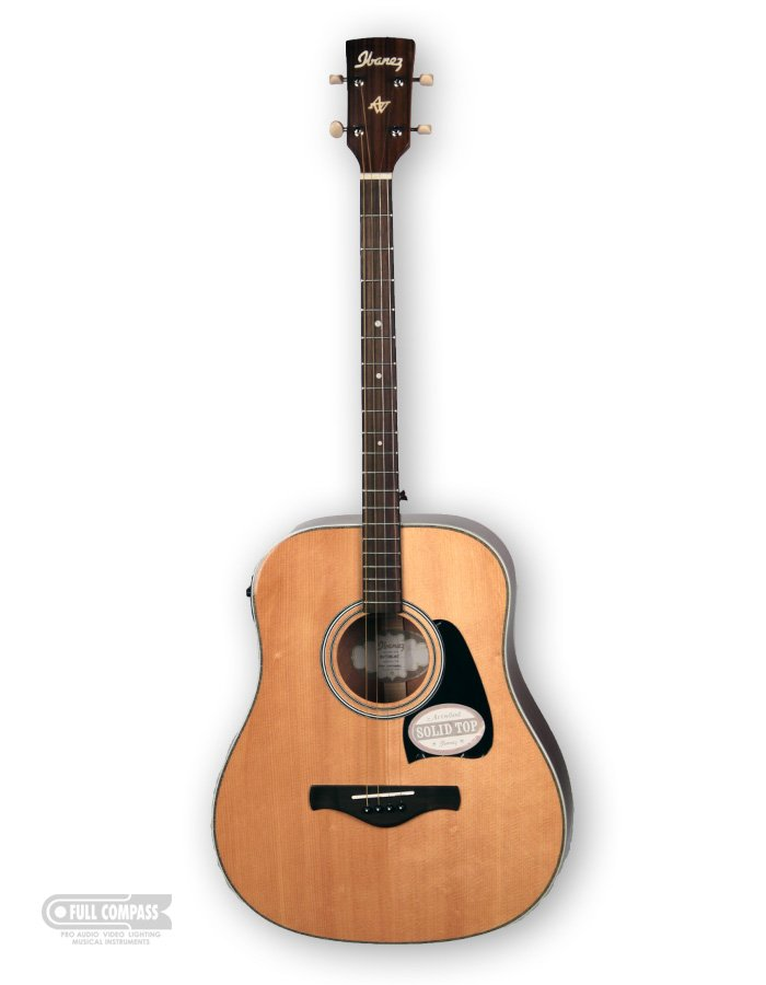 Natural High Gloss Artwood Vintage Series Acoustic/Electric Tenor Guitar  with AEQ-SP2 Preamp