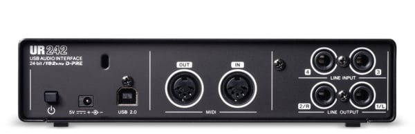 4-Input / 2-Output USB 2.0 Audio Interface with MIDI I/O