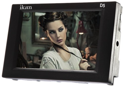 "5.6"" 3G-SDI/HDMI LCD Monitor with HD Panel and Canon 900/Sony L/Panasonic D54 Battery Plates"