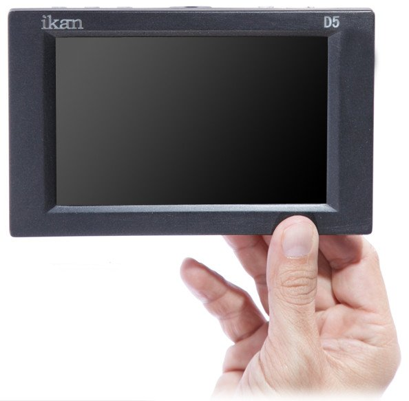 "5.6"" 3G-SDI/HDMI LCD Monitor with HD Panel and Canon E6/Nikon EL15/Panasonic G6 Battery Plates"