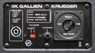 """Gallien-Krueger Neo 212 II 600W 2x12"""" 8 Ohm Bass Speaker Cabinet NEO212-II"""