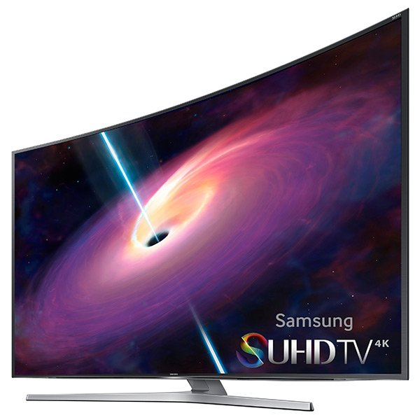 """55"""" 4K SUHD JS9000 Series Curved Smart TV"""