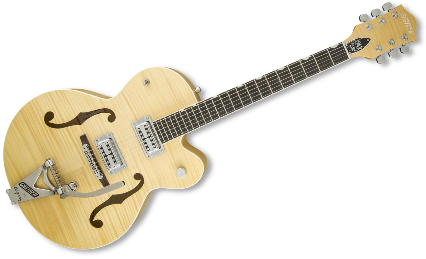 Gretsch Guitars G6120SH-BLND Brian Setzer Blonde Hot Rod Hollow Body Electric Guitar, Blonde G6120SH-BLND