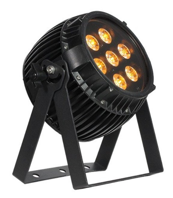 7x 15W RGBAW+UV LED Par Fixture