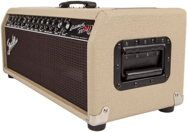 100W Tube Bass Amplifier Head with Oxblood Grille Cloth