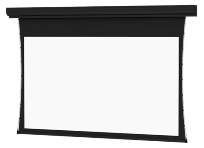 """159"""" HDTV (16:9) Tensioned Contour Electrol Screen with Cinema Vision Surface"""