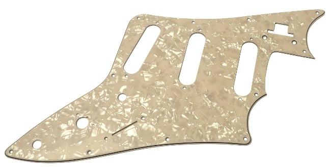 Pearl White Pickguard for JTV-69S