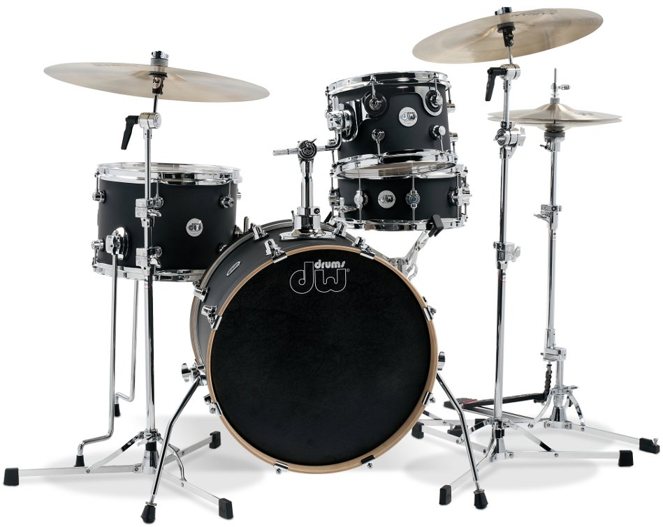 4-Piece Design Series Mini-Pro Shell Pack in Black Satin Finish