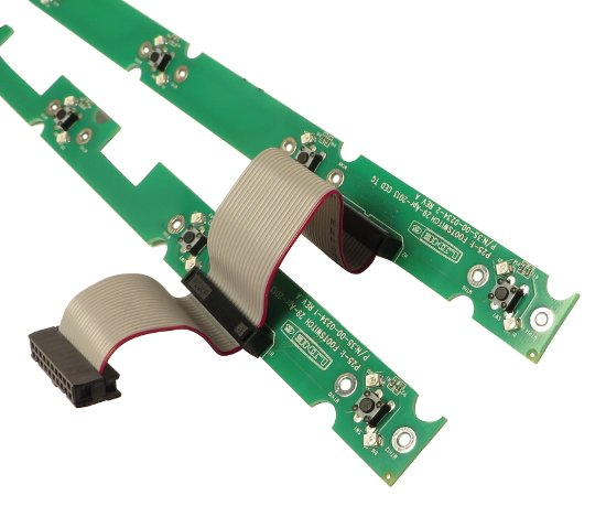 Top and Bottom Switch PCB Assembly for HD500X