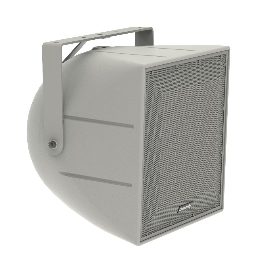 "12"" 600W (8 Ohms) Full-Range Weather Resistant Surface-Mount Loudspeaker with 60°x60° Dispersion"