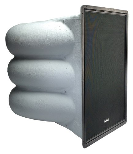 "R Series 3-Way Horn-Loaded Weather-Resistant Bi-Amplified Loudspeaker with (6) 12"" LF Drivers"