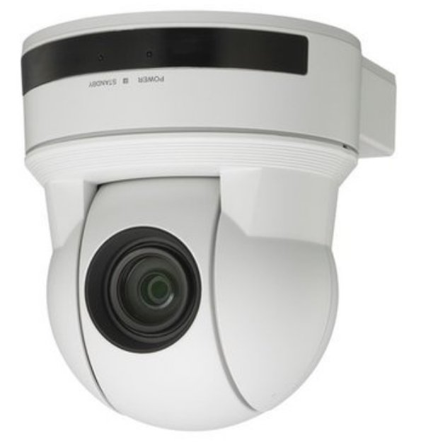 EVI-D90 PTZ Camera Package in White with RC2-SDX Kit