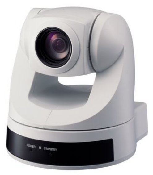 EVI-D70 PTZ Camera Package in White with RC2-SDX Kit