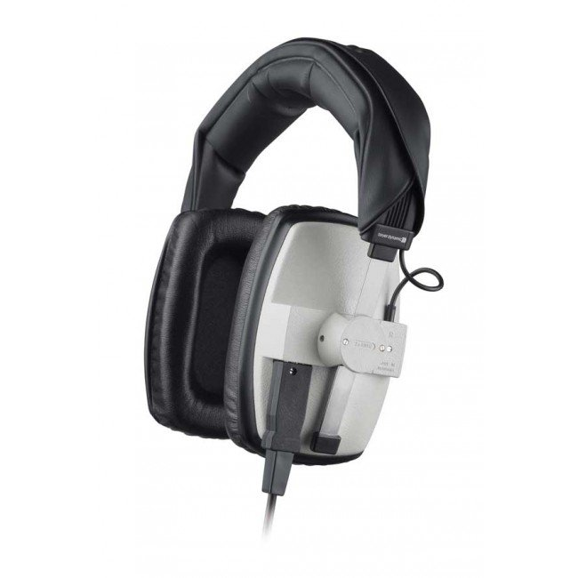 400 Ohm Over-Ear Closed-Back Dynamic Headphones in Grey