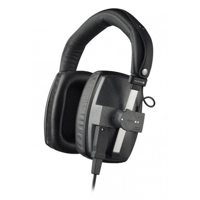 250 Ohm Over-Ear Closed-Back Dynamic Studio Headphones with Detachable Cable