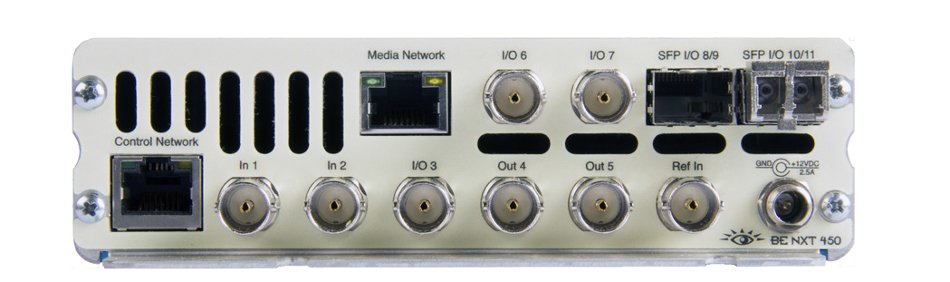 Compact Router for 3G, HD, and SD SDI and HDMI Video with H.264 Encoder/Decoder and Up/Down/Cross Conversion