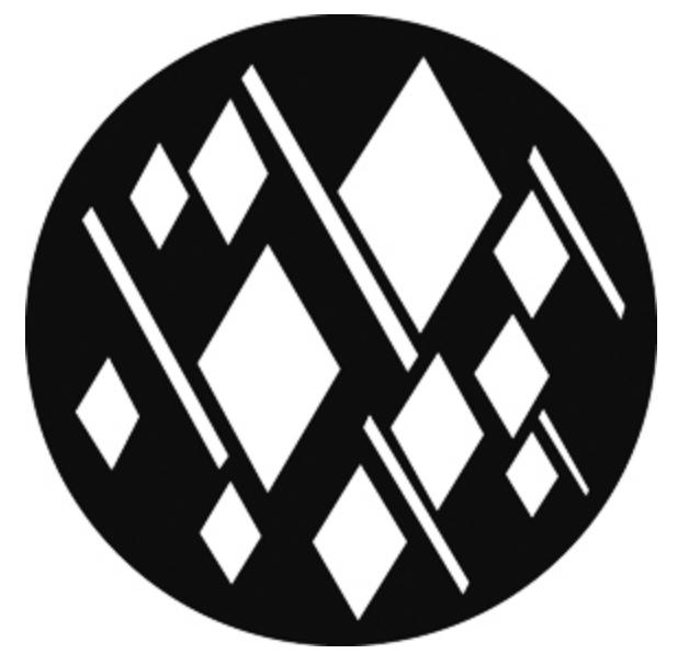 Steel Gobo - Argyle Breakup